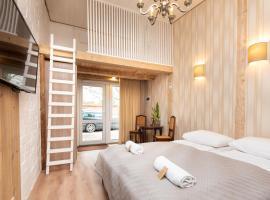 KUBU loft-studia, atostogų būstas mieste Klaipėda