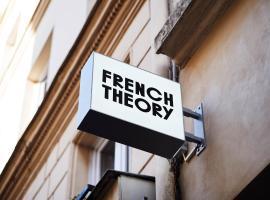 French Theory, hotel em 5º arr., Paris