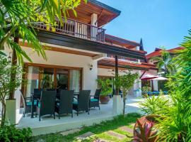 Beachfront Resort Villa Baan Lotus 4BR, resort village in Lamai