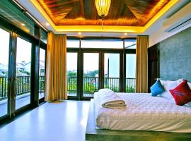 Azumi 01 bedroom balcony 2nd floor Apartment Hoian, apartment in Hoi An