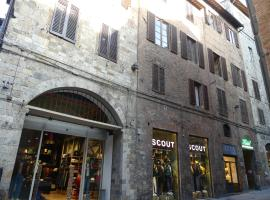Albergo Cannon d'Oro, hôtel à Sienne