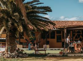 Twin Fin Surf Camp, hostel in Callao Salvaje