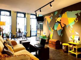 Por el Mundo Hostel, beach hotel in Rio de Janeiro