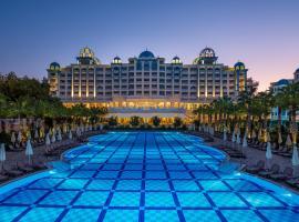 Rubi Platinum Spa Resort & Suites, отель в Авсалларе
