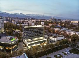 Novotel Almaty City Center, hotel near Boluan Sholak International Exhibition and Sports Centre, Almaty