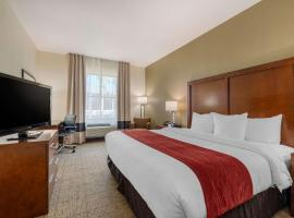 Comfort Inn & Suites Northeast - Gateway, hotel near Treasure Island Golf Tennis Recreation Center, St Petersburg