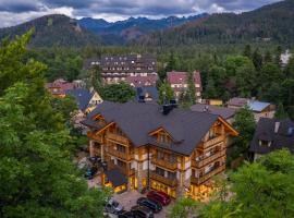 Hotel Foluszowy Potok – hotel w pobliżu miejsca Gubałówka w Zakopanem