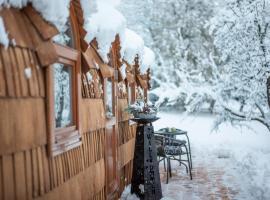 Sabindls Kaiser Lodge, glamping site in Going am Wilden Kaiser