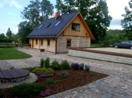 Vilks un Briedis Holiday Home & Wellness Area, vacation home in Smiltene