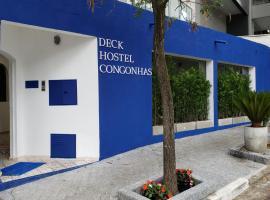 Deck Hostel Congonhas, hostel u gradu Sao Paulo