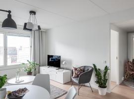 SleepWell Apartments Pasila, hotelli Helsingissä lähellä maamerkkiä Helsingin Messukeskus