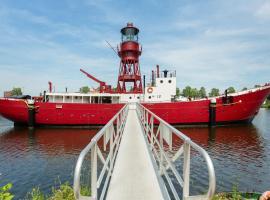 Lightship Amsterdam, boat in Amsterdam