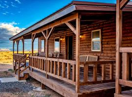 Cabins at Grand Canyon West, hotel v destinaci Peach Springs
