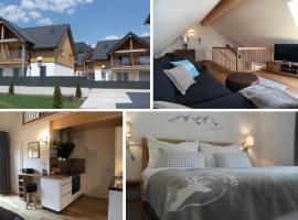 Leben!Pur - Alpenlofts, Ferienwohnung in Bad Mitterndorf