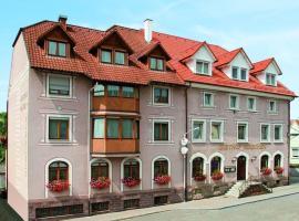 Hotel Restaurant Zum Hirschen, golf hotel in Donaueschingen