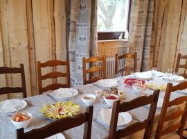 La Pinéguette maison 12 personnes décoration chalet/ sauna 4 personnes, cabin in La Bresse