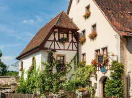 Burghotel, hotel in Rothenburg ob der Tauber