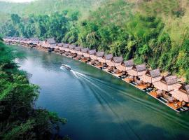 The Float House River Kwai, resort in Sai Yok