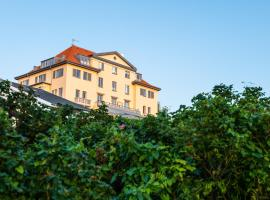 Hotel Bretagne, overnatningssted i Hornbæk