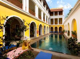 Palais De Mahe - CGH Earth, luxury hotel in Pondicherry