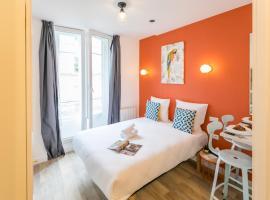 Apartments WS - Haut-Marais - Carreau du Temple, apart-hotel em Paris