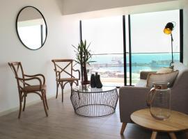 Espectacular Vista en mejor edificio de Antofagasta. 2 Dorm, apartamento en Antofagasta