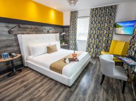 Catalina Hotel & Beach Club, hotel perto de Centro de Convenções de Miami Beach, Miami Beach