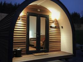 Tomatin Glamping Pods, campeggio a Inverness