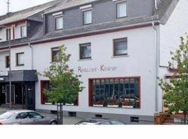 Hotel Klinkner, Hotel in der Nähe von: Burg Rheinfels, Emmelshausen
