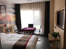 Thank Inn Plus Hotel Hebei Langfang Art Avenue Danfeng Park Exhibition, hotel in Langfang
