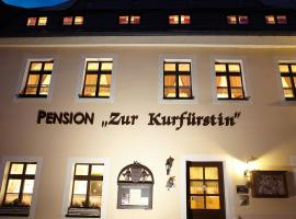 Pension zur Kurfürstin, Hotel in Wolkenstein