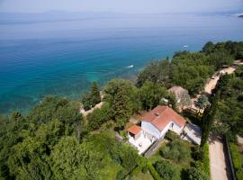 5 bedroom holiday home by the sea in Njivice, family hotel in Njivice