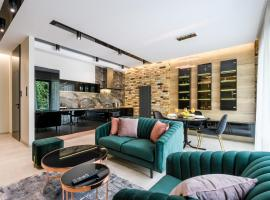 ZLOTA Luxury Apartments – hotel w pobliżu miejsca Dworzec PKP Warszawa Centralna w Warszawie