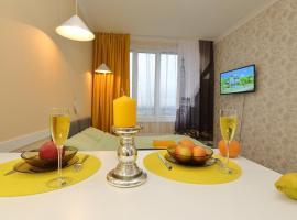 Апартаменты у Крокус Экспо, beach hotel in Myakinino