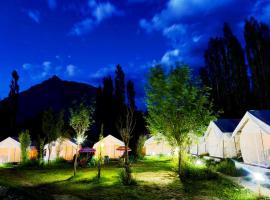 TIH Alpenglow Camp - Nubra, luxury tent in Nubra