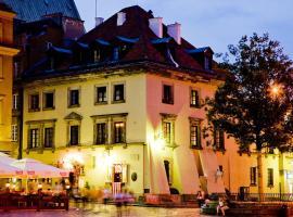 Castle Inn, nakvynės su pusryčiais namai Varšuvoje