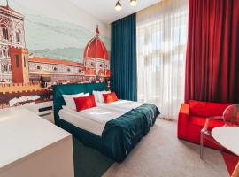 Cities Gallery Apart-hotel, hotel in Lviv