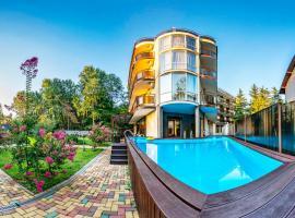 Отель Вилла Море, отель в Лазаревском, рядом находится Парк Культуры и Отдыха