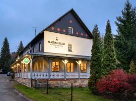 MAXMILLIAN Pension & Restaurant, Hotel in der Nähe von: Rübezahl Ski Lift, Mařenice