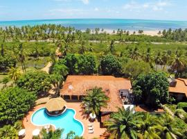 Pousada Paraiso dos Coqueirais, guest house in Japaratinga