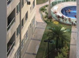 Apartamento mobiliado em condomínio bem localizado, hotel in Aracaju