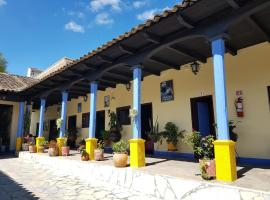 Hotel Lirice Colonial, hotel en Comitán de Domínguez