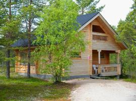 Ounasloma Luxury Cottages, loma-asunto Enontekiöllä
