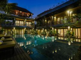 Purana Suite Ubud, accessible hotel in Ubud