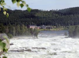 Hotell Storforsen, hotell nära Storforsen, Bredsel