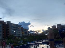 Flat Ilhas do Lago Eco Resort, hotel em Caldas Novas