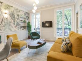 Stylish 2bd House in Central Paris by GuestReady, hotel with parking in Paris
