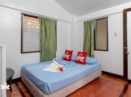 ZEN Rooms Garden Beach Siargao, hotell i General Luna