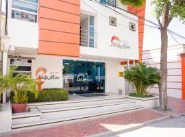 Ayenda 1603 NelyMar, hotel cerca de Playa El Rodadero, Santa Marta