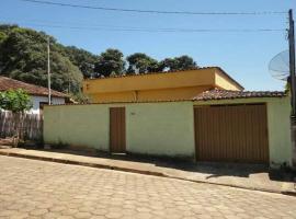 Casa Aconchegante na Serra da Canastra Melhor custo benefício para sua viagem com a família, pet-friendly hotel in São Roque de Minas